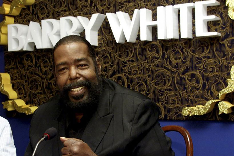 R&B Soul Artist Barry White featured on the Soulful etiquette Radio Show