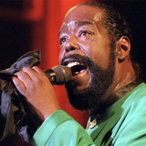 Barry White Never Going to Give You Up Single played on the Soulful Etiquette Radio Show
