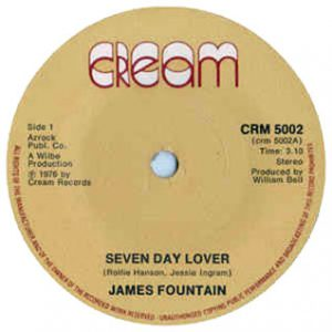 James Fountain Seven day Lover Single played on the Soulful Etiquette Radio Show By Chris Stewart