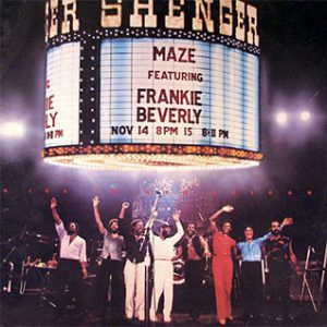 Frankie Beverly & Maze Joy and Pain LP Cover
