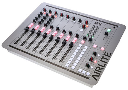 Airlite Radio Mixing desk suitable for home internet station