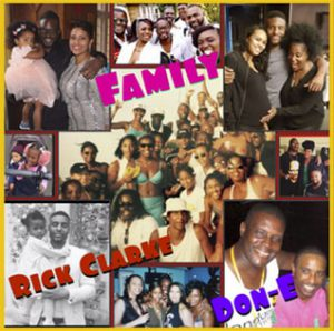 New Music Recent Soulful Record Releases Rick Clark Ft Don E Family Single played on the Soulful Etiquette radio Show By Chris Stewart