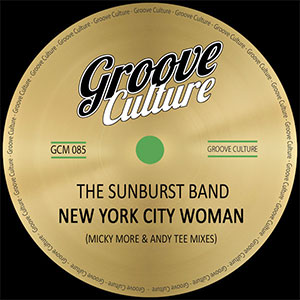 The Sunburst Band New York City Woman Soulful House Single August 2020