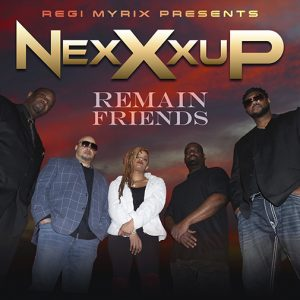 NexXxup new single release Remain Friends out July 2021 cd-cover