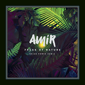 Amir new single FREAK OF NATURE The (Brian-Power-remix) released October 2021